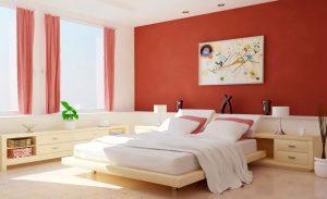 Màu sơn nhà phù hợp với gia chủ mệnh Hỏa